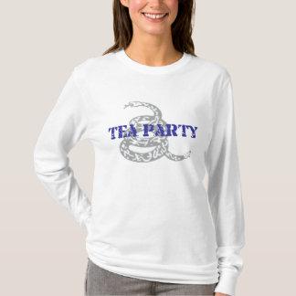 Grauer Gadsden-Tee-PartyHoodie T-Shirt