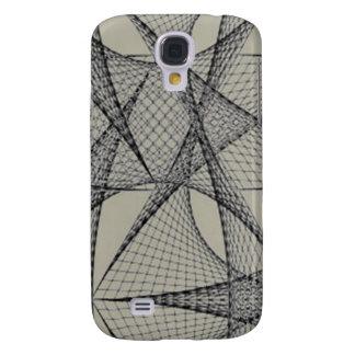 Grauer Gitter iphone Kasten Galaxy S4 Hülle