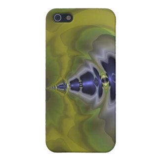 Grauer Kobold im Grün, Spaß-gespenstischer Kobold iPhone 5 Cover