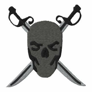 Grauer Schädel-u. Schwerter-Piraten-Entwurf