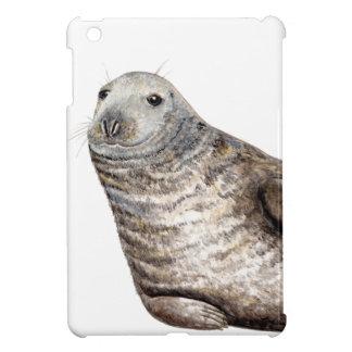 Grauer Seehund iPad Mini Hülle