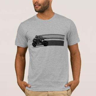 Grauer Streifen T-Shirt