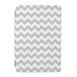 Grauer und weißer Zickzack-Zickzack Muster iPad Mini Hülle