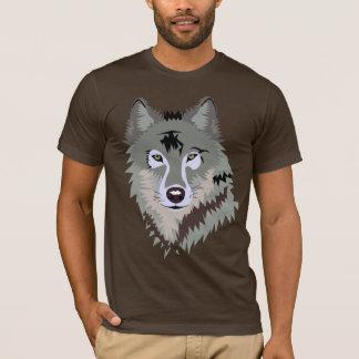 GRAUER WOLF-ENTWURF T-Shirt