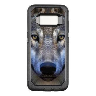 Grauer Wolf OtterBox Commuter Samsung Galaxy S8 Hülle