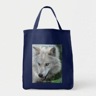 GRAUER WOLF Porträt Tragen-Tasche Sammlung Tragetasche