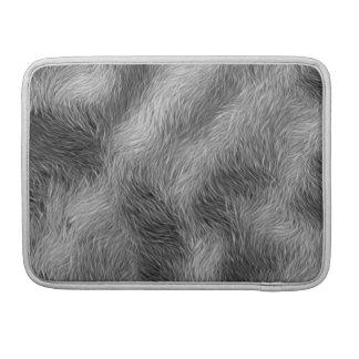 Grauer Wolf-Tier-Pelz-MacBook-Hülse MacBook Pro Sleeve