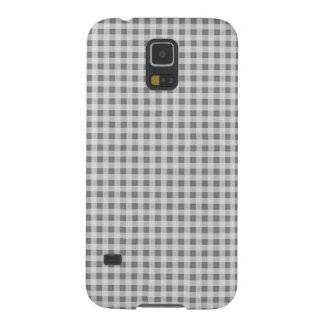 Graues Gingham-Muster Samsungs Samsung S5 Hüllen
