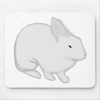 Graues Häschen Mousepad