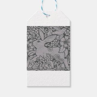 Graues Kaninchen-exklusive ursprüngliche Geschenkanhänger