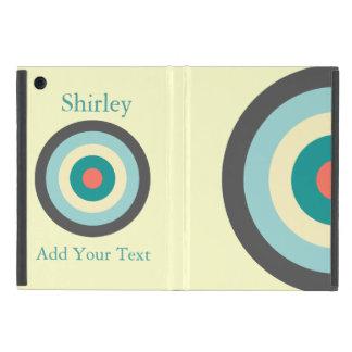 Graues Kombinations-Bullauge durch Shirley Taylor iPad Mini Etuis
