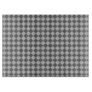 Graues Kombinations-Diamant-Muster durch Shirley Schneidebrett