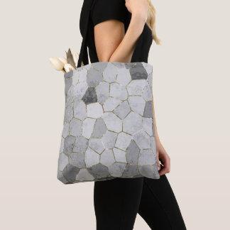 Graues Mosaik Tasche