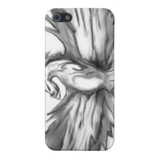 Graues Phoenix iPhone 5 Cover