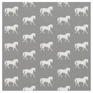 Graues Pony-Gewebe, Pferdegewebe, Vieh-Gewebe Stoff