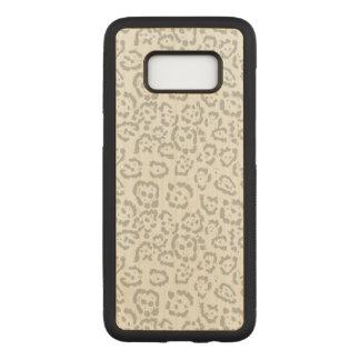 Graues Schnee-Leopard-Katzen-Tier Carved Samsung Galaxy S8 Hülle