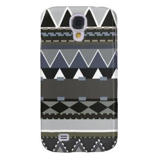 Graues Stammes- inspiriertes Galaxy S4 Hülle