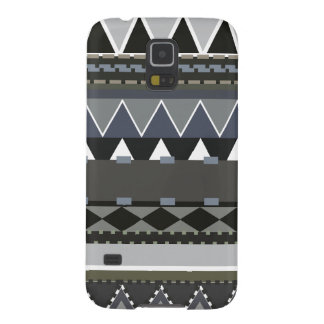 Graues Stammes- inspiriertes Samsung Galaxy S5 Cover