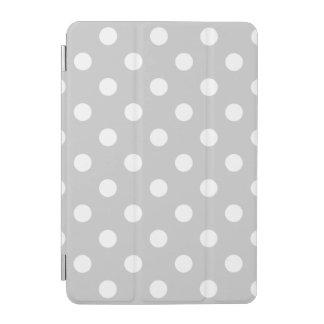 Graues Tupfen-Muster iPad Mini Hülle