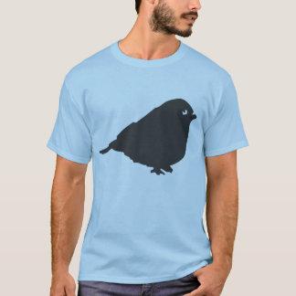 Graues Vogel-Logo T-Shirt