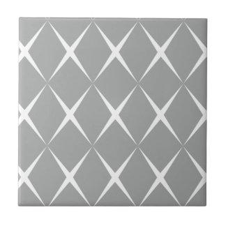 Graues Weiß-Diamant Keramikfliese