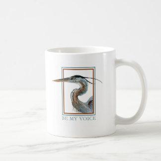 Graureiher durch Jane Freeman Kaffeetasse