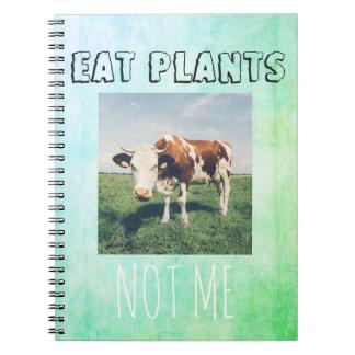 Grausamkeit freies NOTIZBUCH für veganes, Notizblock