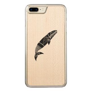 Grauwal Carved iPhone 8 Plus/7 Plus Hülle