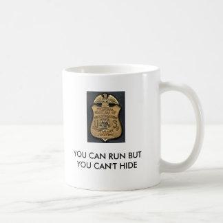 Gravano, FBI_Badge, KÖNNEN SIE LAUFEN, ABER SIE Kaffeetasse