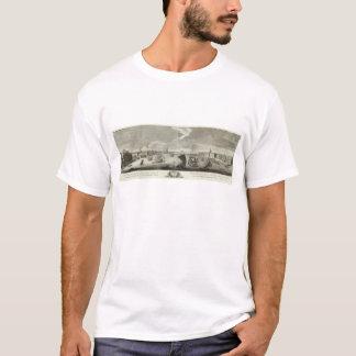 Gravierte Ansicht von St Petersburg 5 T-Shirt