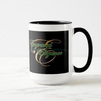 Gravierte Eleganz-Tasse Tasse
