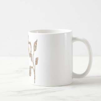 Gravierte Juwelen FUNKELN Goldn Silber Kaffeetasse