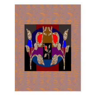 Gravierte Juwelen FUNKELN Goldn Silber Postkarte