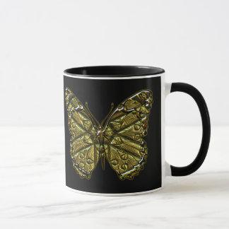 Gravierte Tasse des Schmetterlings-2