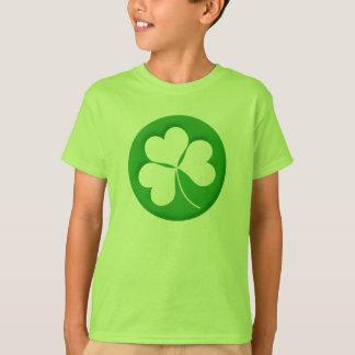 Graviertes Kleeblatt scherzt T - Shirt