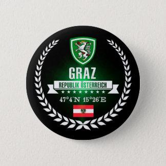 Graz Runder Button 5,7 Cm