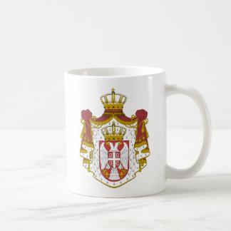 Grb Srbije, serbisches Wappen Kaffeetasse