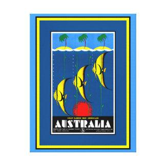 Great Barrier Reef Leinwand-Druck Leinwanddruck