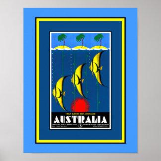 Great Barrier Reef Plakat