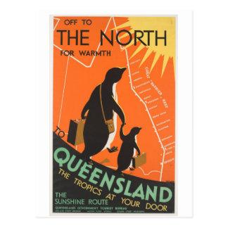 Great Barrier Reef Postkarte Penquins zu Queenland