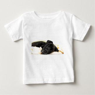 Great Dane - black / Deutsche Dogge - schwarz Baby T-shirt