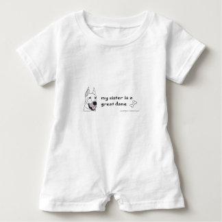 great dane - mehr züchtet baby strampler