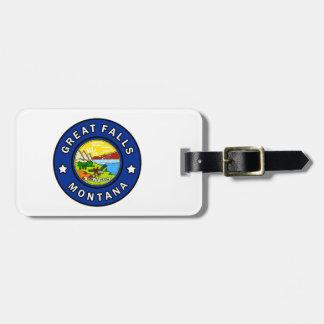 Great Falls Montana Gepäckanhänger