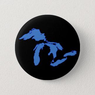 Great Lakes allein - runder Knopf Runder Button 5,1 Cm