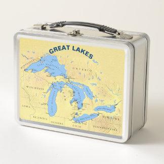 Great Lakes, in denen ich MetallBrotdose lebe, Metall Brotdose