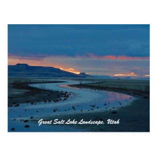Great- Salt Lakelandschaft, Utah Postkarten
