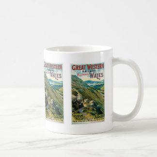 Great Western Bahn~ Wales Kaffeetasse