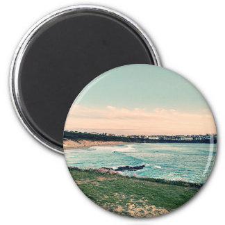 Great Western Strand Newquay Runder Magnet 5,7 Cm