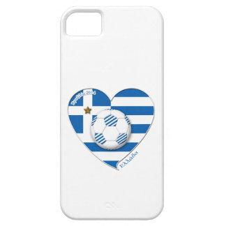 """Greece """"ΕΛΛΆΔΑ"""" Soccer Team. Fußball Griechenland  iPhone 5 Hülle"""