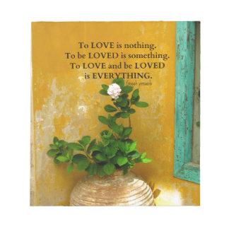 greekproverbInspirational Liebezitat Notizblock